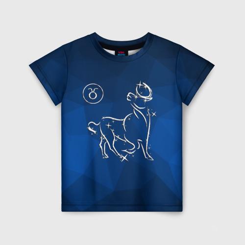 Детская футболка 3D Телец