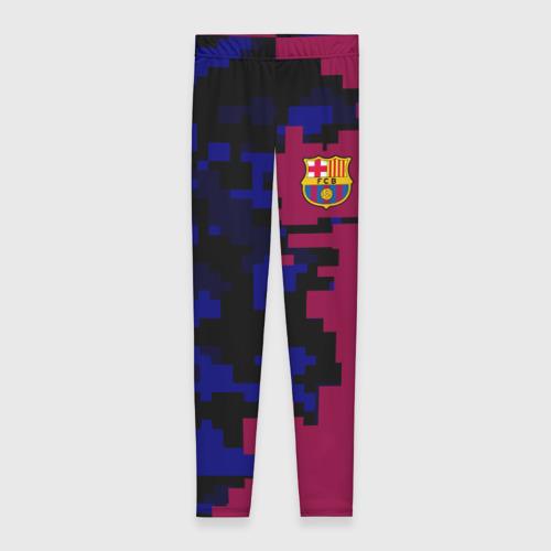 Леггинсы 3D FC Barca 2018 Creative uniform