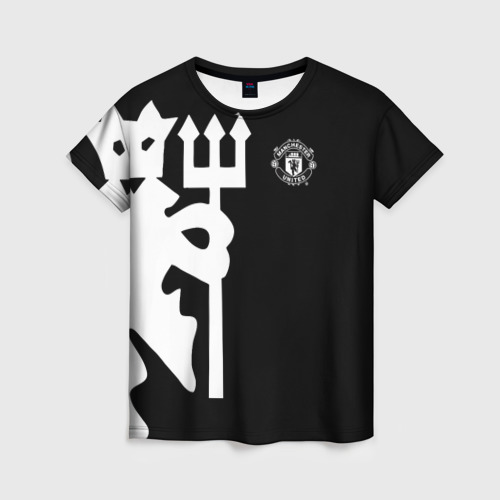 Женская футболка 3D F.C.M.U 2018 Devil