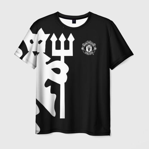 Мужская футболка 3D F.C.M.U 2018 Devil