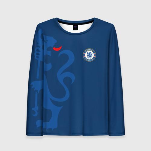 Женский лонгслив 3D Chelsea Uniform