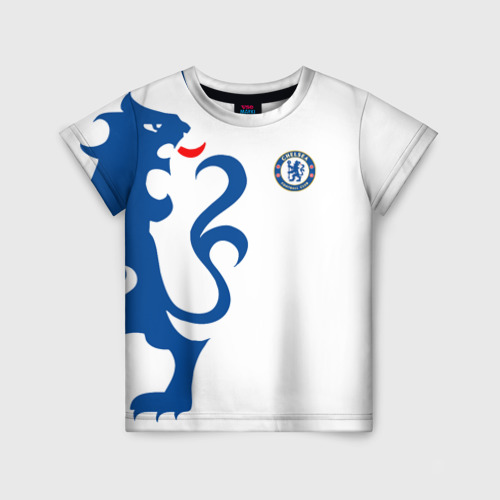 Детская футболка 3D Chelsea Uniform