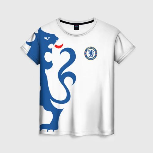 Женская футболка 3D Chelsea Uniform
