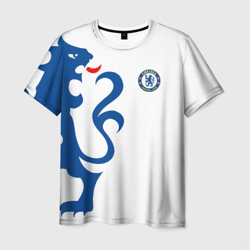 Мужская футболка 3D Chelsea Uniform