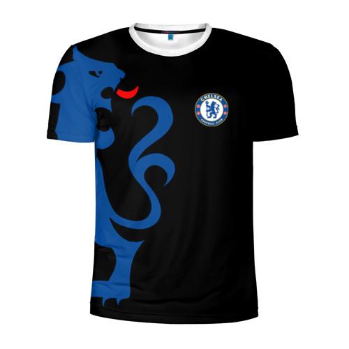 Мужская футболка 3D спортивная Chelsea Uniform