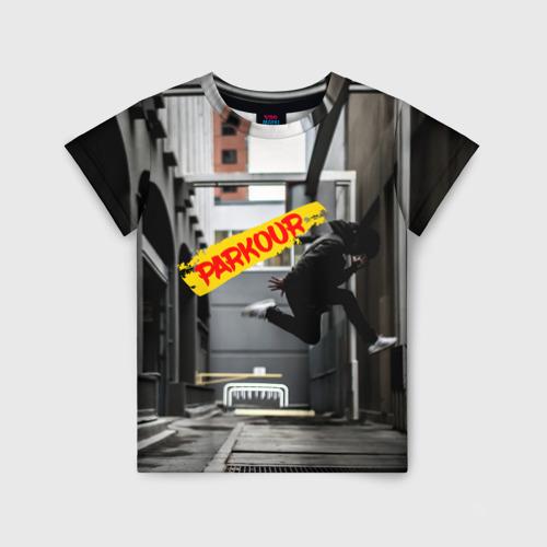 Детская футболка 3D parkour