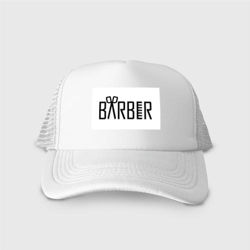 Кепка тракер с сеткой Barber