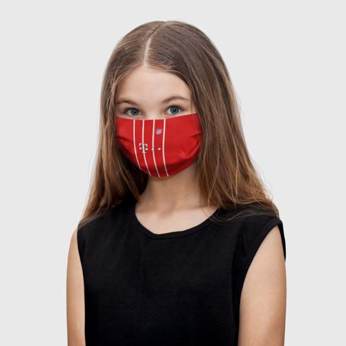Детская маска (+5 фильтров) James 17-18