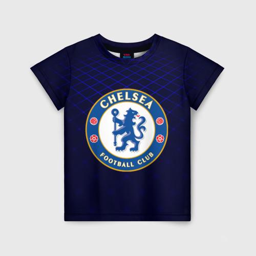 Детская футболка 3D Chelsea 2018 Uniform