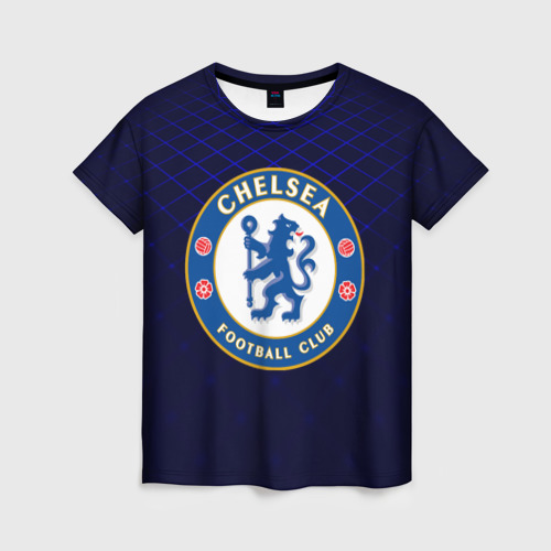 Женская футболка 3D Chelsea 2018 Uniform