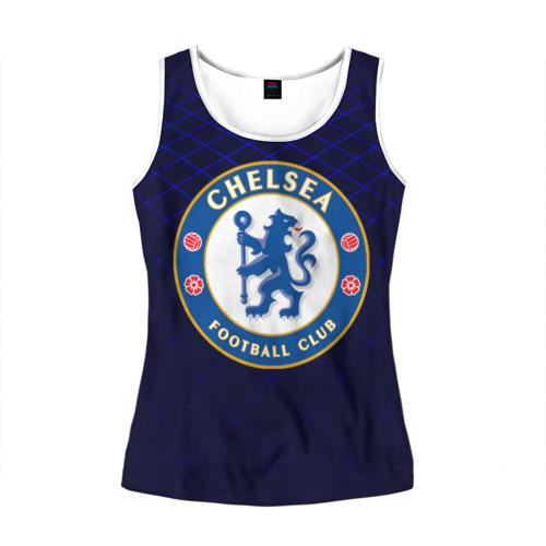 Женская майка 3D Chelsea 2018 Uniform