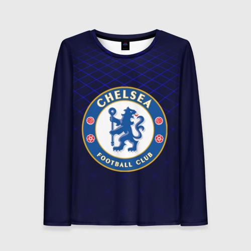 Женский лонгслив 3D Chelsea 2018 Uniform