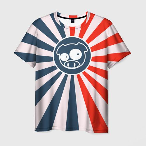 Мужская футболка 3D JDM Style