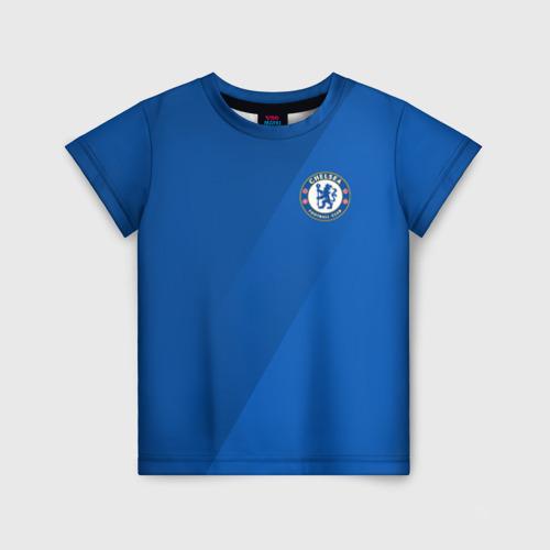 Детская футболка 3D Chelsea  2018 Элитная форма