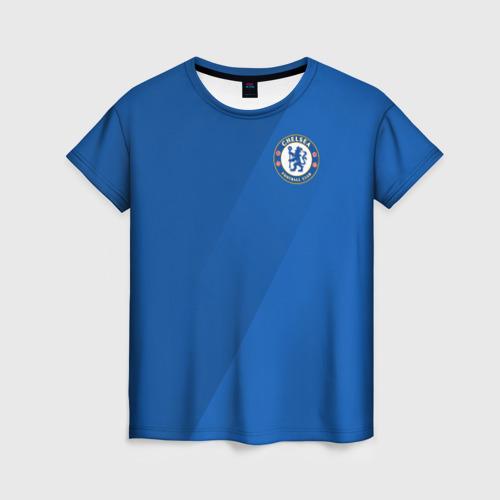 Женская футболка 3D Chelsea  2018 Элитная форма