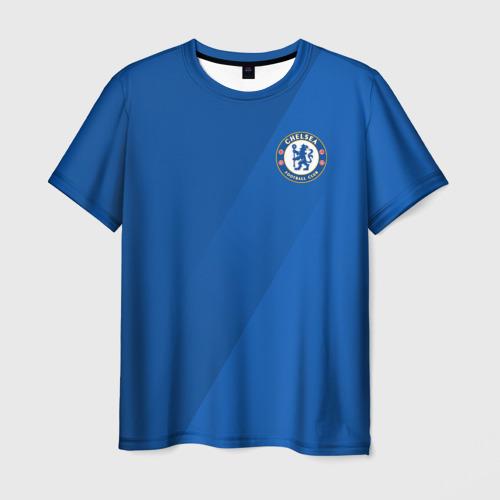 Мужская футболка 3D Chelsea  2018 Элитная форма