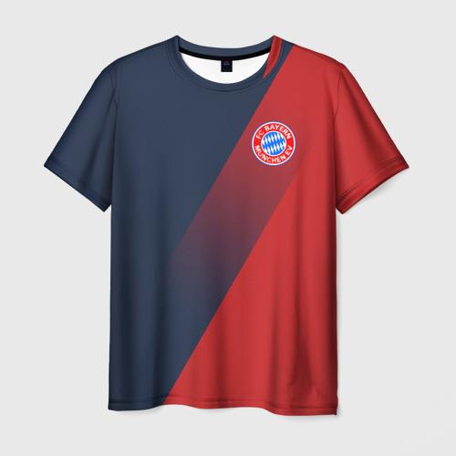 Мужская футболка 3D FC Bayern 2018 Элитная