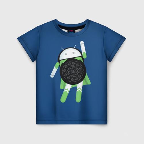 Детская футболка 3D Android Oreo