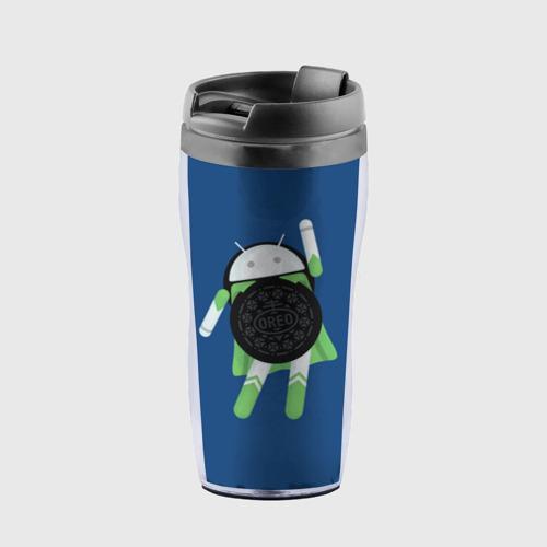 Термокружка-непроливайка Android Oreo