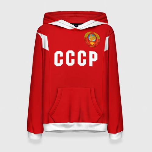 Женская толстовка 3D Сборная СССР 1988