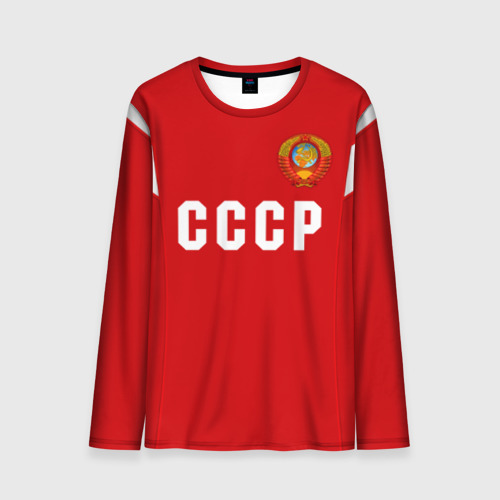 Мужской лонгслив 3D Сборная СССР 1988