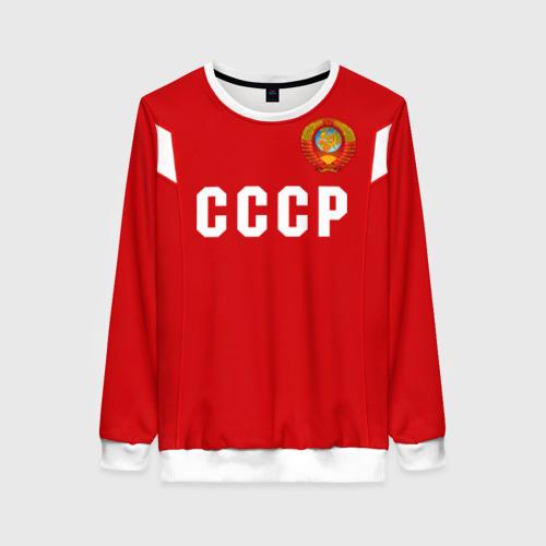 Женский свитшот 3D Сборная СССР 1988