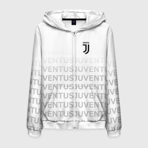 Мужская толстовка 3D на молнии Juventus 2018 Original
