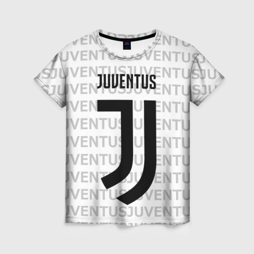 Женская футболка 3D Juventus 2018 Original