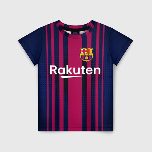 Детская футболка 3D Barcelona FC