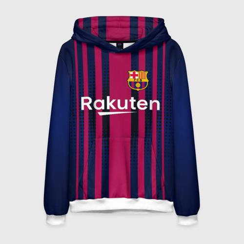 Мужская толстовка 3D Barcelona FC