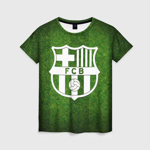 Женская футболка 3D Barcelona FC