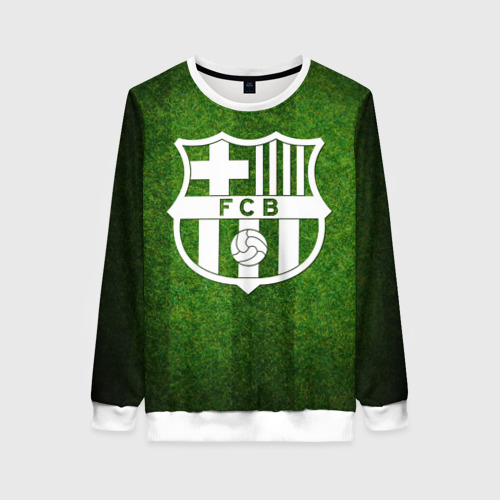 Женский свитшот 3D Barcelona FC