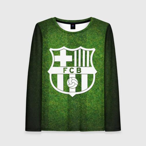 Женский лонгслив 3D Barcelona FC