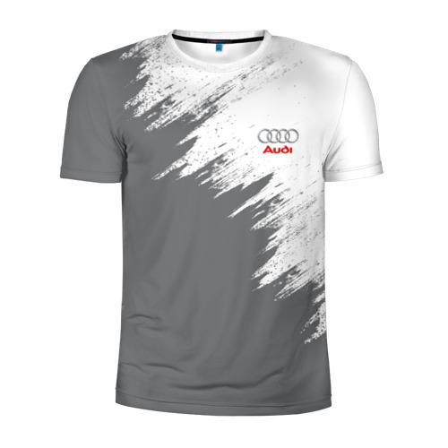 Мужская футболка 3D спортивная Audi