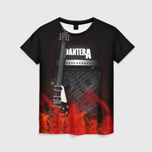 Женская футболка 3D Pantera