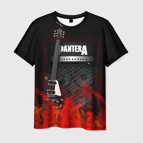 Мужская футболка 3D Pantera