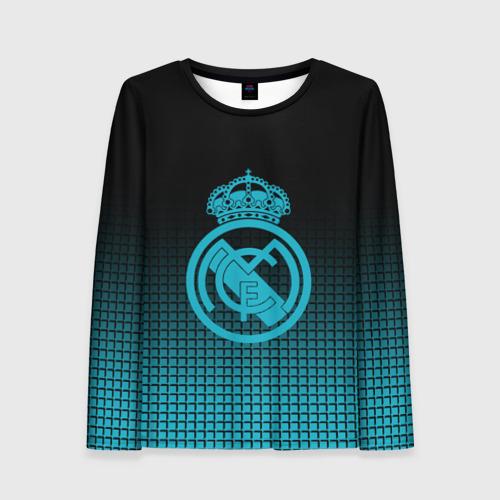 Женский лонгслив 3D Real Madrid 2018 Original