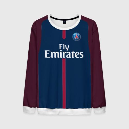 Мужской свитшот 3D Neymar home PSG 17-18