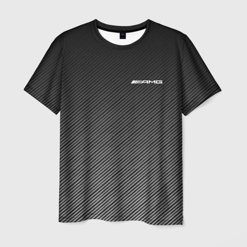 Мужская футболка 3D AMG CARBON