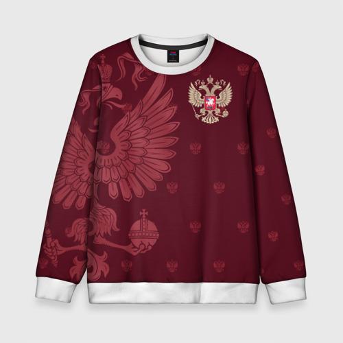 Детский свитшот 3D Герб России