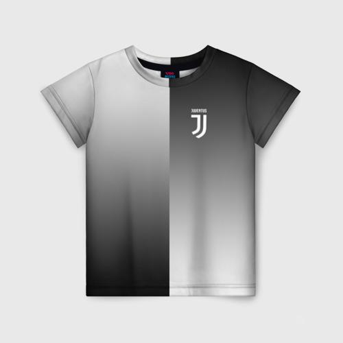 Детская футболка 3D Juventus 2018 Reverse