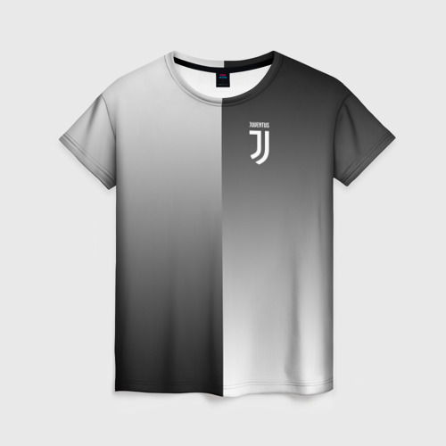 Женская футболка 3D Juventus 2018 Reverse