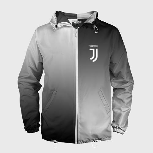 Мужская ветровка 3D Juventus 2018 Reverse