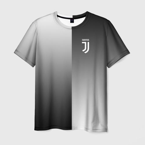 Мужская футболка 3D Juventus 2018 Reverse