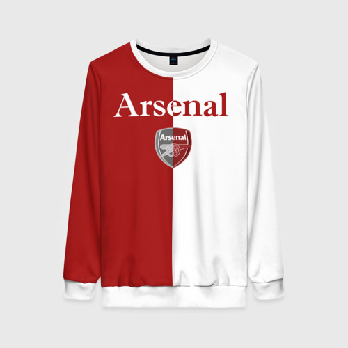 Женский свитшот 3D Arsenal