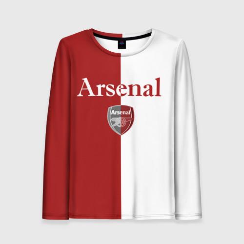 Женский лонгслив 3D Arsenal
