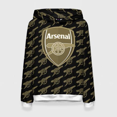Женская толстовка 3D FC Arsenal