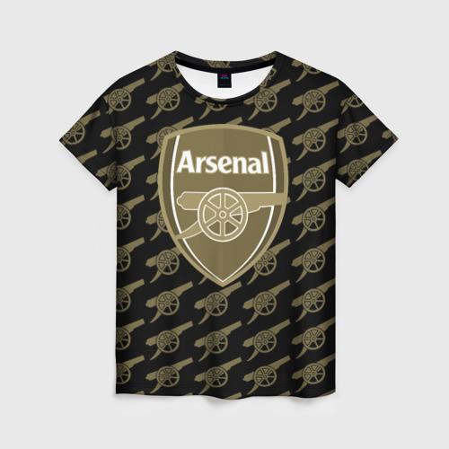 Женская футболка 3D FC Arsenal