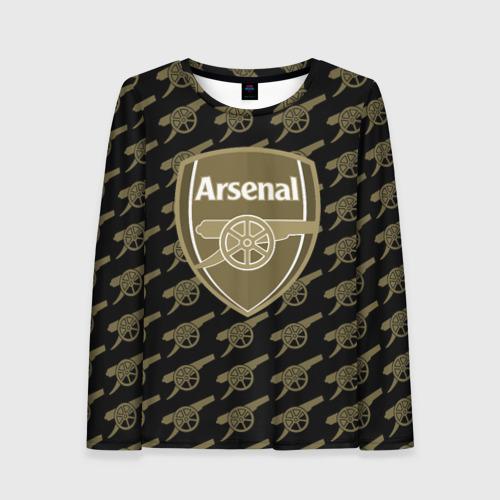 Женский лонгслив 3D FC Arsenal