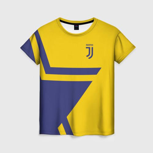 Женская футболка 3D Juventus 2018 STAR